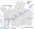 1 Landkreis Dillingen Maerkte zusammen mit anderen Gemeinden nummeriert.png