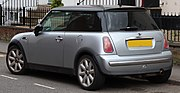 2003 Mini Cooper Automatic 1.6 Rear.jpg