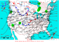 2006-01-19 Surface Weather Map NOAA.png