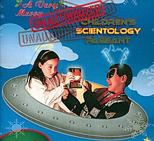 2007 A Very Merry Unauthorized Scientology promo poster crop.jpg