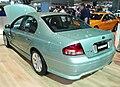 2007 Ford Fairmont (BF II) Ghia sedan (2007-10-12) 02.jpg