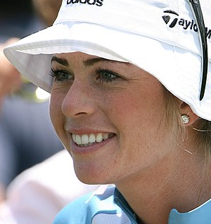 Paula Creamer (USA) the day before 2007 McDona...