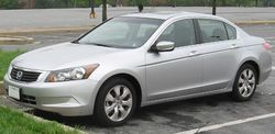 2008 Honda Accord EX sedan (U.S.)