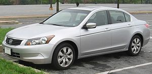 2008 Honda Accord photographed in USA.