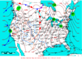 2009-02-05 Surface Weather Map NOAA.png