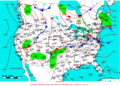 2009-06-20 Surface Weather Map NOAA.png