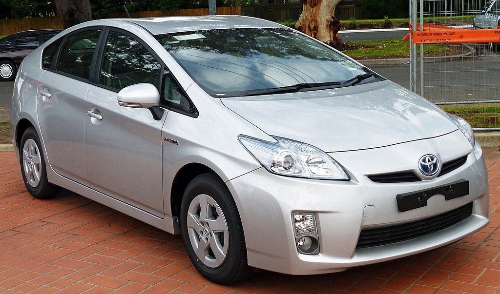 Toyota Prius Silver Touch Up Paint