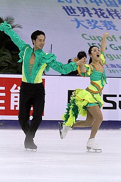 2011 Cup of China Yu Xiaoyang Wang Chen.jpg