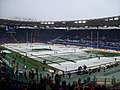 2012-02-11 Rome Olympic Stadium under the snow before ITA-ENG rugby match.jpg