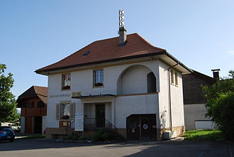 Wileroltigen - Municipal administration building of Wileroltigen