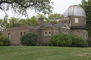 Perkins Observatory - The old building (now Ohio Wesleyan University Student Observatory)