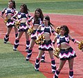 20130629 'Cheer Dragons' cheer team of the Chunichi Dragons at Yokohama Stadium.JPG