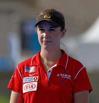Erika Jones - Image: 2013 FITA Archery World Cup Women's individual compound Final 03 (cropped)