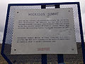 2014-09-08 15 32 00 Hickison Summit historic marker and Lincoln Highway marker on U.S. Route 50 at Hickison Summit, Nevada.JPG