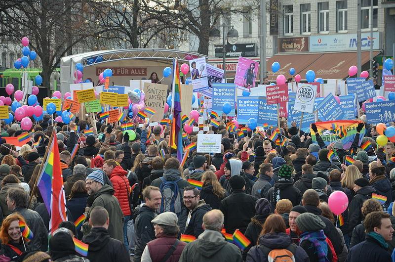 """File:2014-11-22 angebliche """"Demo für Alle""""-Kundgebung in Hannover, (1021).JPG"""