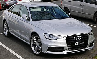 Audi A6 - Image: 2014 Audi A6 (4G MY14) 2.0 TFSI S line sedan (2015 08 02) 01