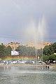 2014 Erywań, Tęcza i fontanny na Placu Republiki (01).jpg