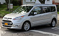2014 Ford Transit Connect Wagon Titanium LWB front left.jpg
