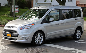 2014 Ford Transit Connect Titanium Wagon, long-wheelbase standard-roof