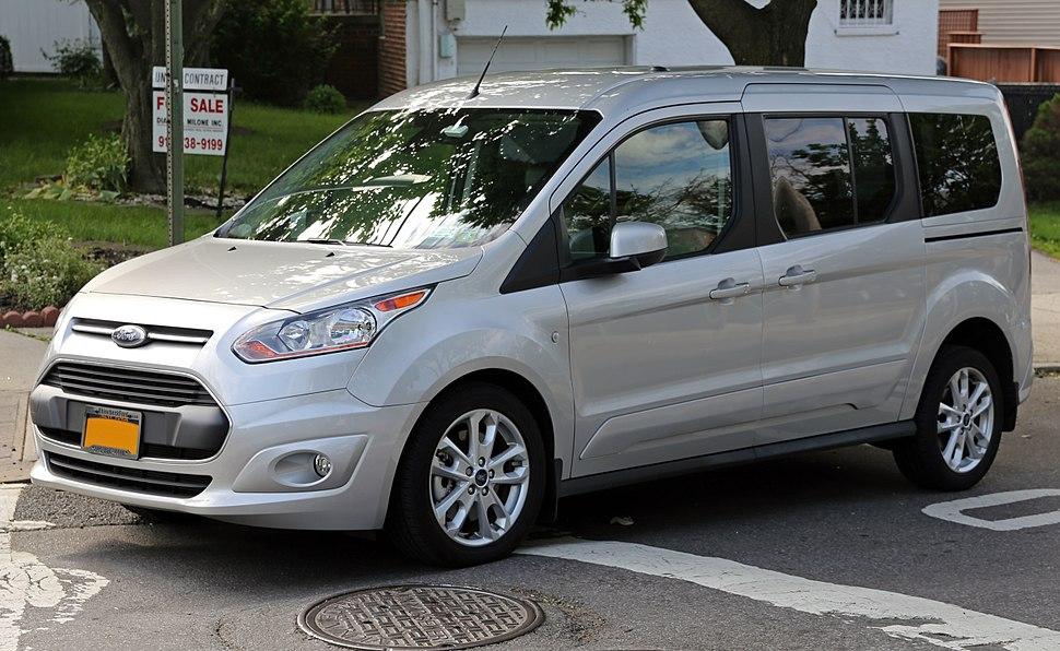 2014 Ford Transit Connect Wagon Titanium LWB front left