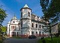 2014 Powiat raciborski, Krzyżanowice, Pałac 03.jpg