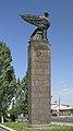 2014 Prowincja Armawir, Zwartnoc, Pomnik przy wejściu.jpg