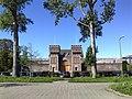 2015, Scheveningen Prison The Hague, old main gate (02).jpg