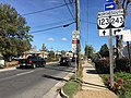 2016-10-28 12 32 33 View north along Virginia State Route 123 (Maple Avenue) at Virginia State Route 243 (Nutley Street) in Vienna, Fairfax County, Virginia.jpg