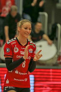 Louisa Lippmann German volleyball player