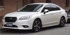 2016 Subaru Liberty (MY16) 2.5i sedan (2018-11-02) 01.jpg