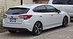 2017 Subaru Impreza (GT7) 2.0i-S hatchback (2017-07-15) 02.jpg