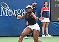 2017 US Open Tennis - Qualifying Rounds - Sachia Vickery (USA) def. Jamie Loeb (USA) (36339321993).jpg