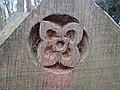 2018-03-28 Carved wooden post, Pretty Corner, Sheringham (2).JPG