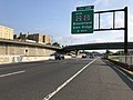 2018-07-17 08 16 11 View north along New Jersey State Route 444 (Garden State Parkway) just north of Exit 145 in East Orange, Essex County, New Jersey.jpg