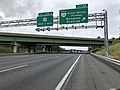 2018-10-11 12 40 05 View west along Interstate 66 at Exit 44 (Virginia State Route 234 SOUTH-Prince William Parkway, Manassas, Dumfries) in Wellington, Prince William County, Virginia.jpg