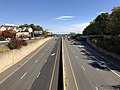 2018-10-31 14 00 07 View east along U.S. Route 50 (Arlington Boulevard) from the overpass for Virginia State Route 650 (Gallows Road) along the border of Woodburn and Merrifield in Fairfax County, Virginia.jpg