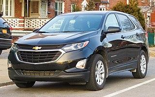 Chevrolet Equinox mid-size crossover SUV