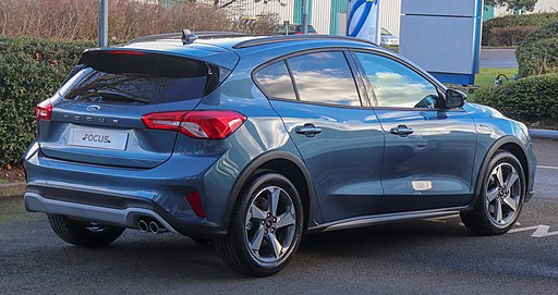 2019 Ford Focus Active Ecoboost 1.0 Rear