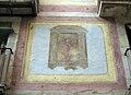 20 Edifici c. Carders 43, plafó pintat de la Mare de Déu del Roser.jpg