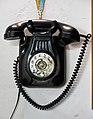 214 Museu d'Història de Catalunya, bar dels anys 60, telèfon de paret.JPG