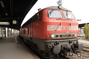 Hildesheim–Goslar railway - Local service from Hanover to Bad Harzburg via Goslar