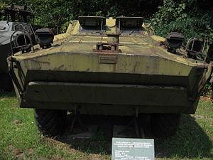 2P111 tank destroyer at the Muzeum Polskiej Techniki Wojskowej in Warsaw (2).jpg