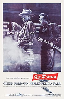 <i>3:10 to Yuma</i> (1957 film) 1957 film by Delmer Daves