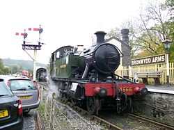 4566 at Bronwydd Arms.JPG