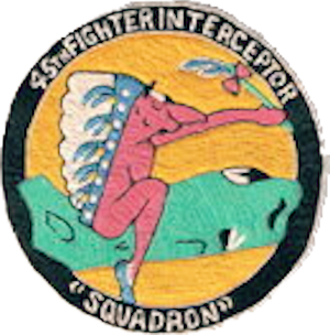 Sidi Slimane Air Base - Emblem of the 45th FIS
