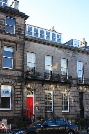 John Anderson (genealogist, fl. 1825) - Anderson's house at 4 Walker Street, Edinburgh