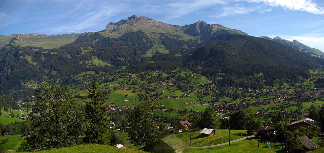 5068-5070a - Grindelwald - View from Wengernalpbahn.JPG