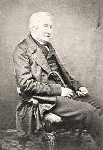 George Percy, 5th Duke of Northumberland - Carte de visite of the Duke of Northumberland,  ca. 1860.