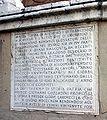 6154 - Bologna - San Francesco - Lapide sull'Arca degli Accursii - Foto Giovanni Dall'Orto, 9-Feb-2008.jpg