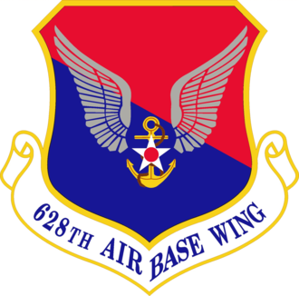 Charleston Air Force Base - Image: 628th Air Base Wing Emblem